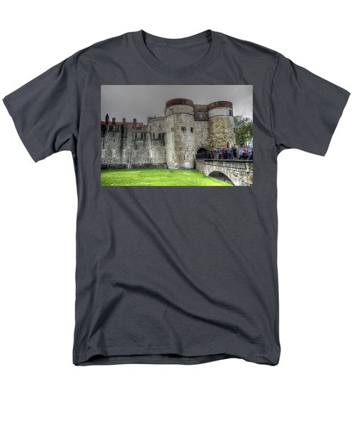 Gates To The Tower Of London Men's T-Shirt  (Regular Fit) by Karen McKenzie McAdoo