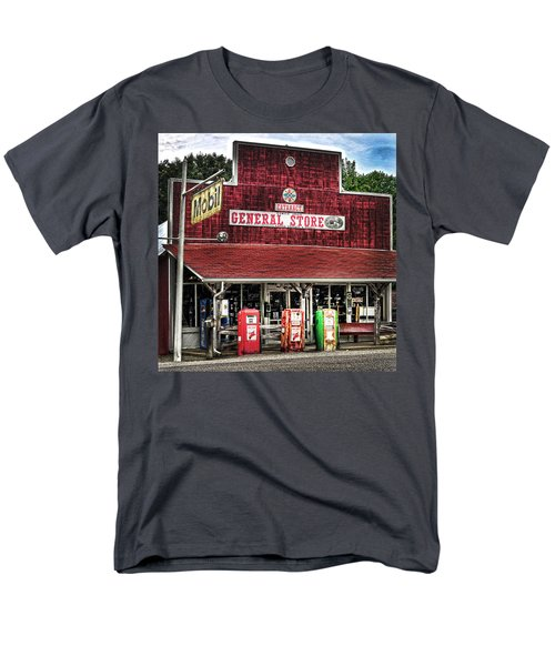 General Store Cataract In. Men's T-Shirt  (Regular Fit) by Randall Branham