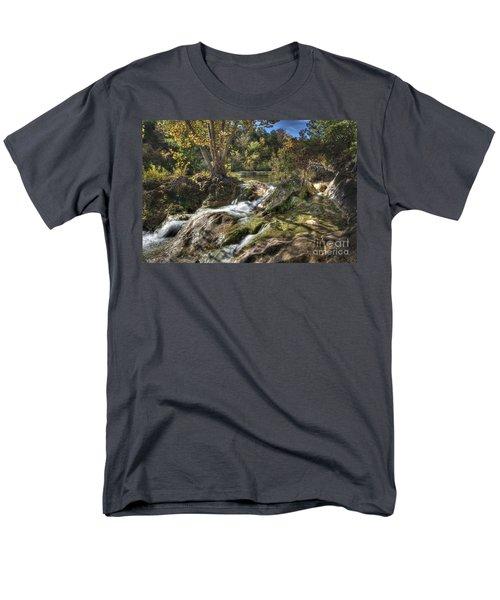 Gentle Mountain Stream Men's T-Shirt  (Regular Fit) by Tamyra Ayles