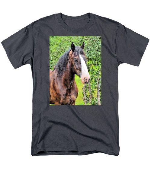 Gentle Soul Men's T-Shirt  (Regular Fit) by Elizabeth Dow