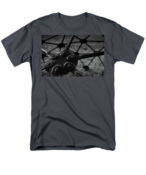 Men's T-Shirt  (Regular Fit) featuring the photograph Geodome Climber 2 by Richard Rizzo