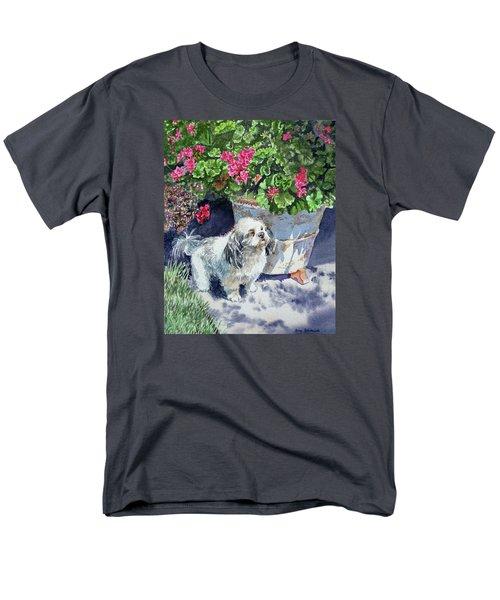 Georgie Men's T-Shirt  (Regular Fit) by Irina Sztukowski