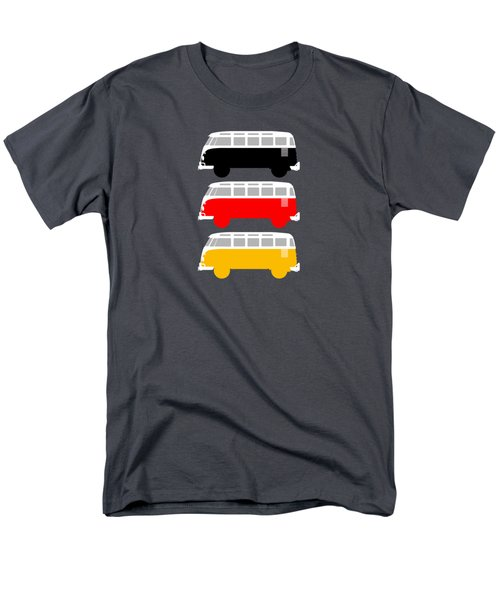 German Icon - Vw T1 Samba Men's T-Shirt  (Regular Fit) by Mark Rogan