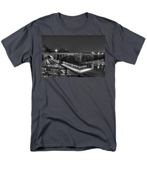 Gervais Street B-w Men's T-Shirt  (Regular Fit) by Charles Hite