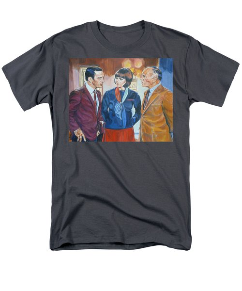 Get Smart Men's T-Shirt  (Regular Fit) by Bryan Bustard