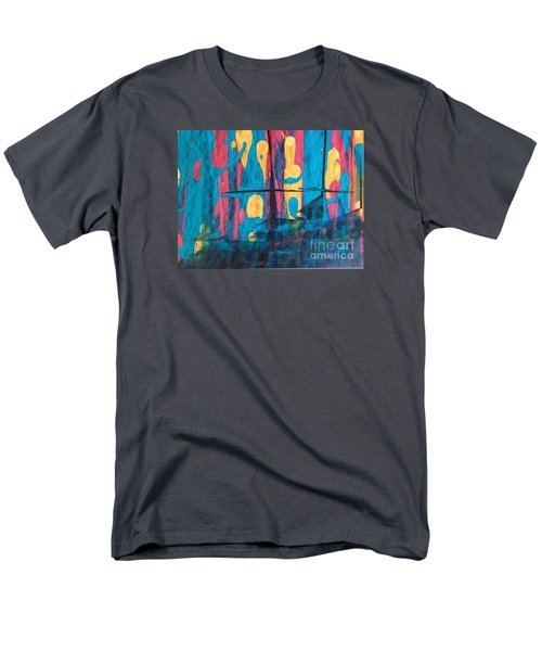 Men's T-Shirt  (Regular Fit) featuring the painting Ghost Ship by Marcia Dutton