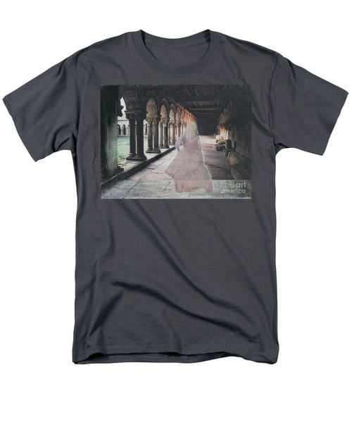 Men's T-Shirt  (Regular Fit) featuring the mixed media Ghostly Adventures by Desiree Paquette