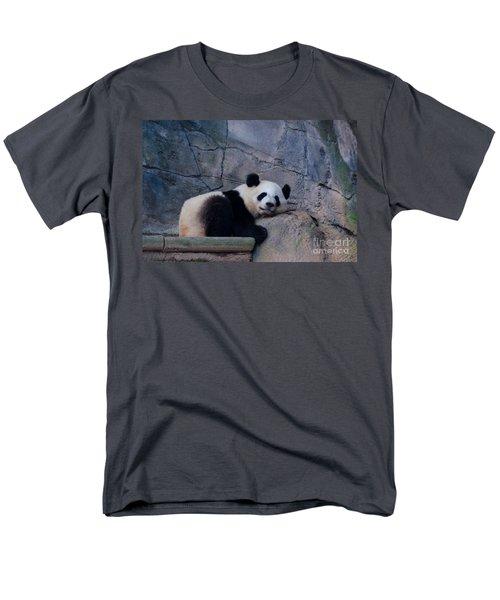 Giant Panda Men's T-Shirt  (Regular Fit) by Donna Brown