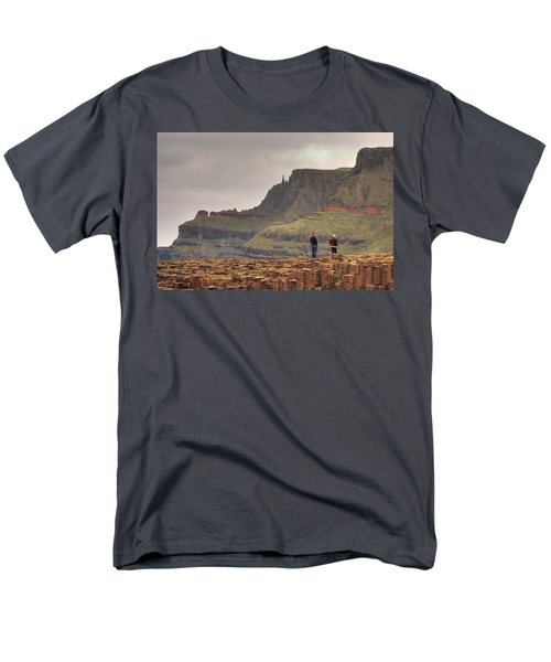 Men's T-Shirt  (Regular Fit) featuring the photograph Giants Causeway by Ian Middleton