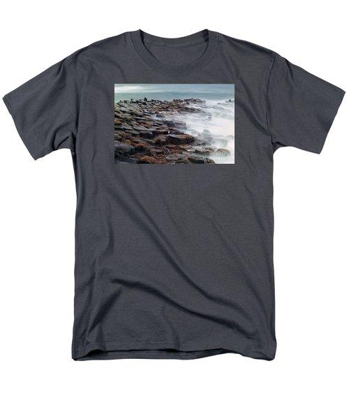 Men's T-Shirt  (Regular Fit) featuring the photograph Giants Causeway by Juergen Klust