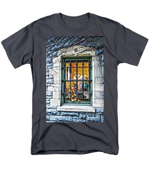 Gift Shop Window Men's T-Shirt  (Regular Fit) by Sandy Moulder