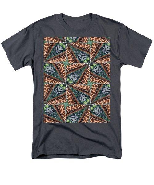 Giraffe Through The Window Men's T-Shirt  (Regular Fit) by Maria Watt