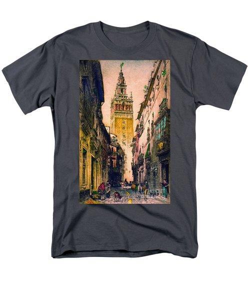 Giralda 1916 Men's T-Shirt  (Regular Fit) by Padre Art