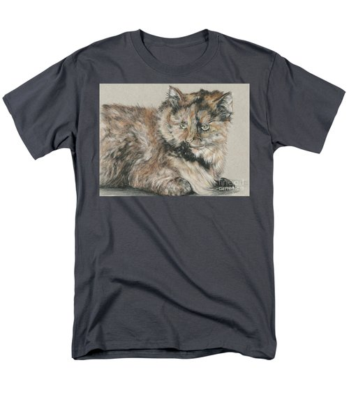 Men's T-Shirt  (Regular Fit) featuring the drawing Girl  by Meagan  Visser