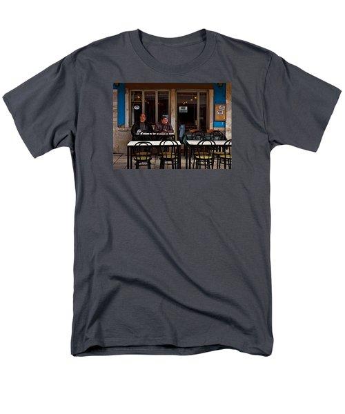 Men's T-Shirt  (Regular Fit) featuring the photograph Girl Watching by Laura Ragland