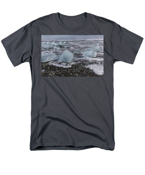 Glacier Ice 3 Men's T-Shirt  (Regular Fit) by Kathy Adams Clark