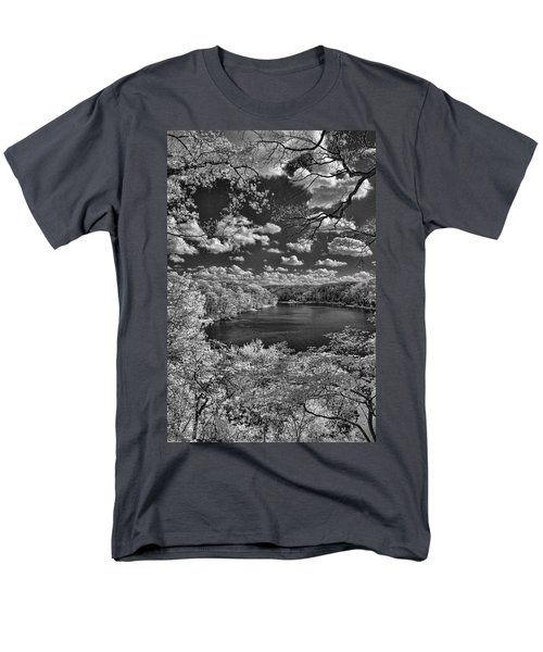 Glacier Lake Men's T-Shirt  (Regular Fit) by Michael McGowan
