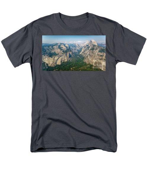 Glacier Point Yosemite Np Men's T-Shirt  (Regular Fit) by Daniel Heine