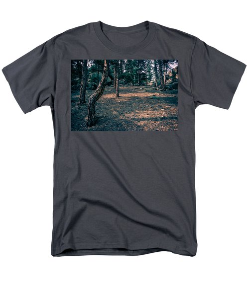 Glade In The Forest Of Colorado Men's T-Shirt  (Regular Fit) by John Brink