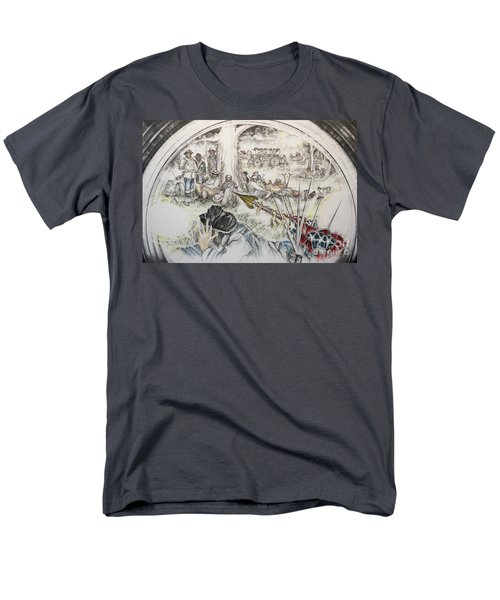 Glass Aftermath Men's T-Shirt  (Regular Fit) by Scott and Dixie Wiley