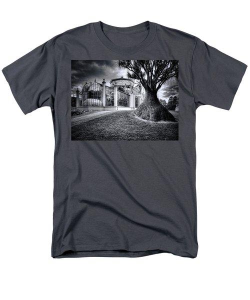 Glasshouse And Tree Men's T-Shirt  (Regular Fit) by Wayne Sherriff