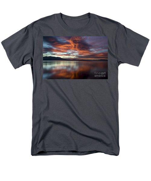 Glassy Tahoe Men's T-Shirt  (Regular Fit) by Mitch Shindelbower