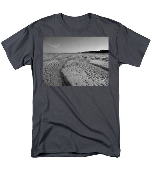 Gloucester Lighthouse Monocrhome Men's T-Shirt  (Regular Fit) by Barbara Bardzik