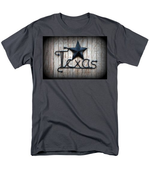 Men's T-Shirt  (Regular Fit) featuring the photograph God Bless Texas by Kathy  White