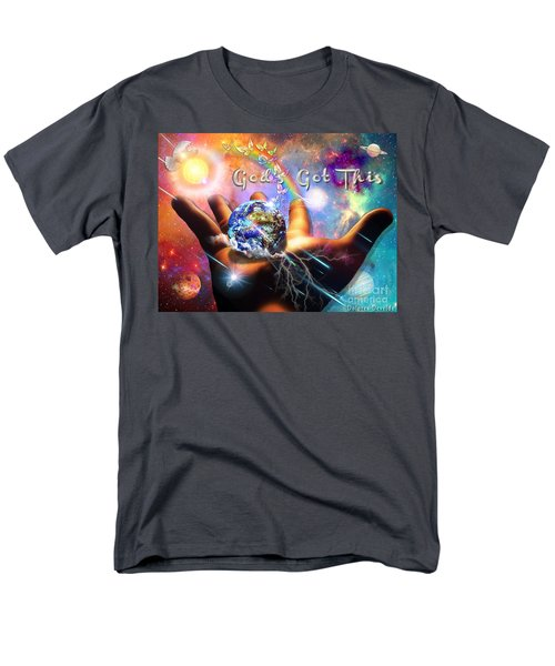 Men's T-Shirt  (Regular Fit) featuring the digital art God's Got This by Dolores Develde