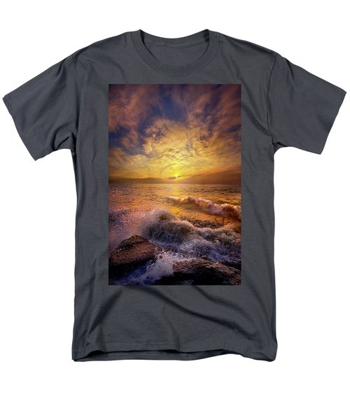 Men's T-Shirt  (Regular Fit) featuring the photograph Gods Natural Cure by Phil Koch