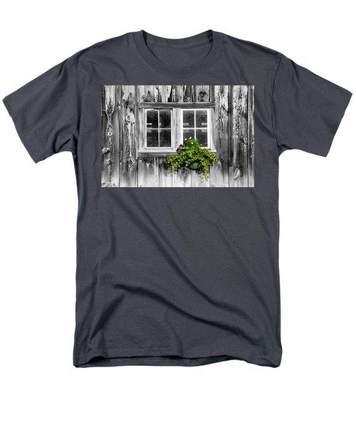Going Green Men's T-Shirt  (Regular Fit) by Greg Fortier