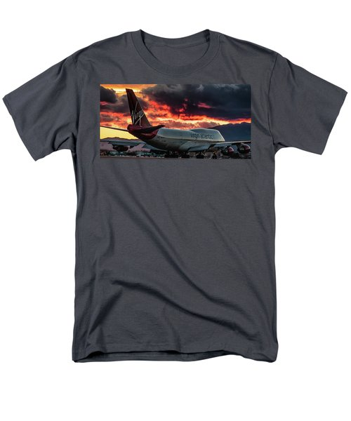 Going Home Men's T-Shirt  (Regular Fit) by Michael Rogers