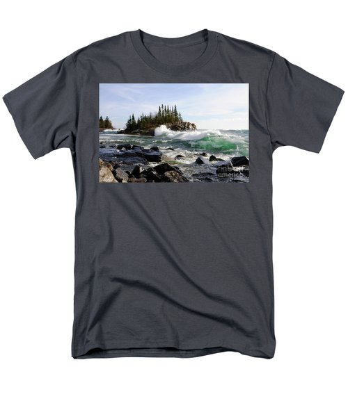 Going Wild Men's T-Shirt  (Regular Fit) by Sandra Updyke