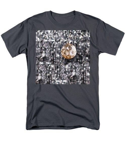 Men's T-Shirt  (Regular Fit) featuring the photograph Gold Christmas by Ulrich Schade