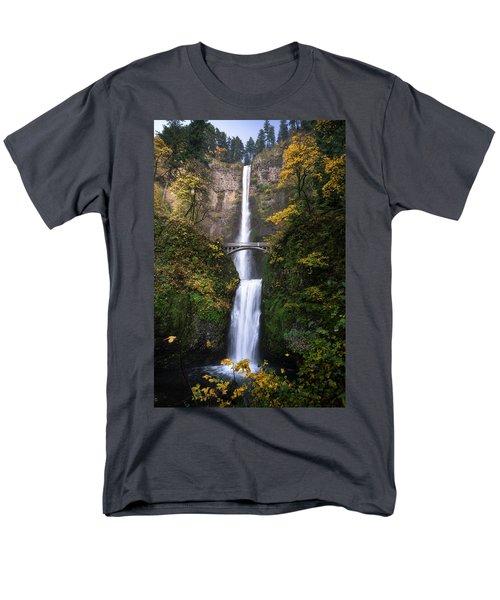 Golden Multnomah Men's T-Shirt  (Regular Fit) by Bjorn Burton