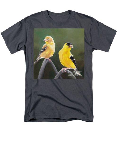 Golden Pair Men's T-Shirt  (Regular Fit)