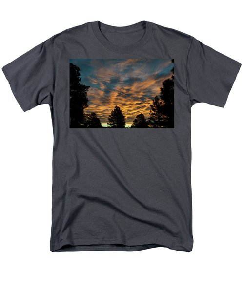 Golden Winter Morning Men's T-Shirt  (Regular Fit) by Jason Coward