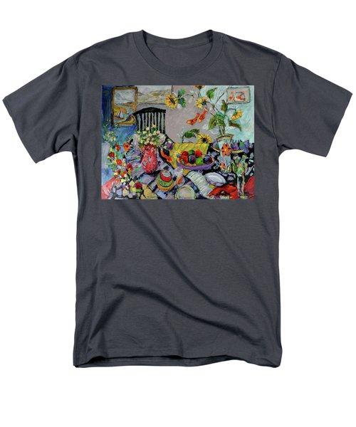 Goldfish Rumble Men's T-Shirt  (Regular Fit) by Sharon Furner