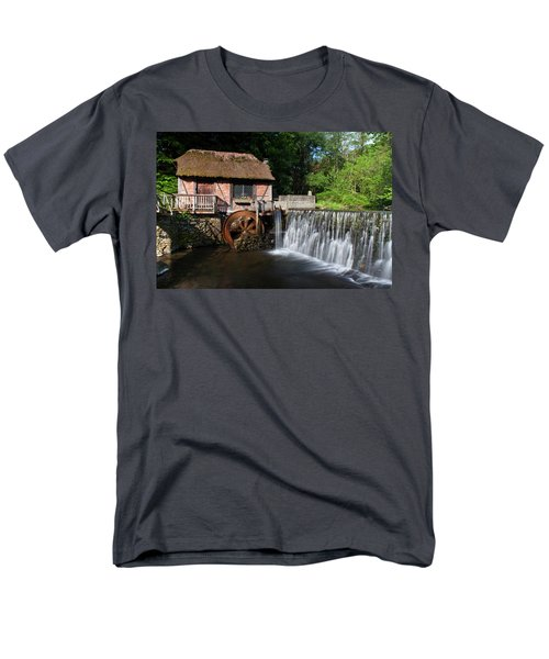 Gomez Mill In Spring #1 Men's T-Shirt  (Regular Fit) by Jeff Severson