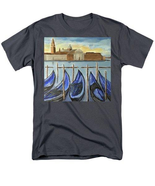 Gondolas Men's T-Shirt  (Regular Fit) by Victoria Lakes