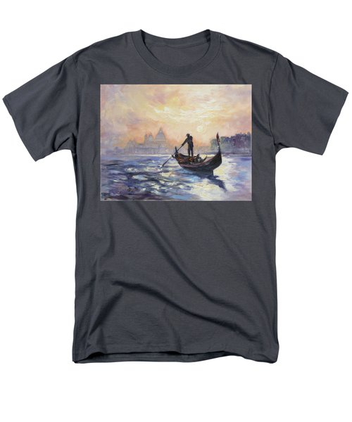 Gondolier Men's T-Shirt  (Regular Fit) by Irek Szelag