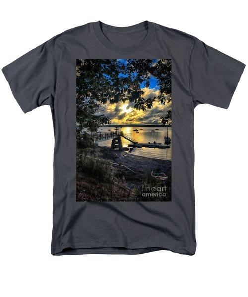 Good Night Madeleine Point Men's T-Shirt  (Regular Fit) by Elizabeth Dow