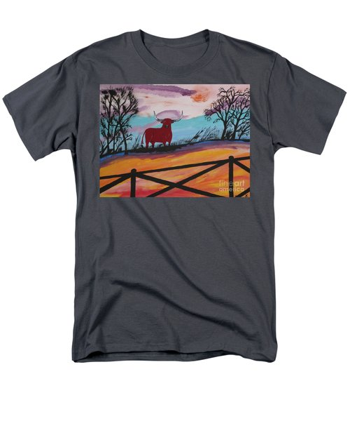 Men's T-Shirt  (Regular Fit) featuring the painting Goodbye My Lover by Jeffrey Koss