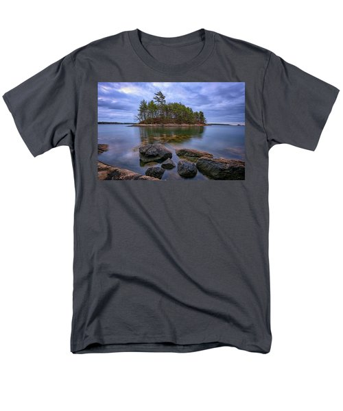 Men's T-Shirt  (Regular Fit) featuring the photograph Googins Island by Rick Berk