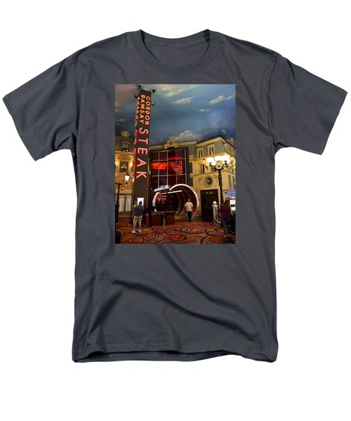 Gordon Ramsay Steak Men's T-Shirt  (Regular Fit)