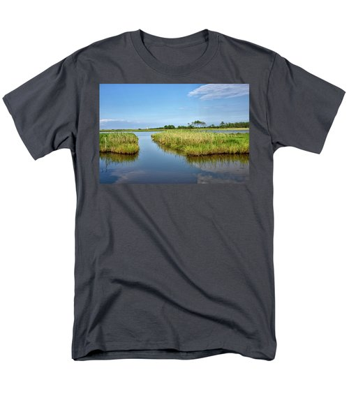 Men's T-Shirt  (Regular Fit) featuring the photograph Gordons Pond - Cape Henlopen Park - Delaware by Brendan Reals