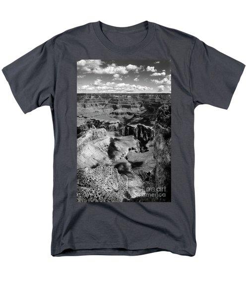 Grand Canyon Bw Men's T-Shirt  (Regular Fit) by RicardMN Photography