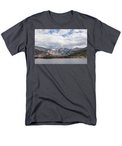 Men's T-Shirt  (Regular Fit) featuring the photograph Grand Lake -- Largest Body Of Water In Colorado by Carol M Highsmith