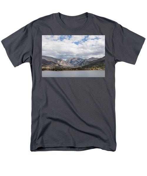Grand Lake -- Largest Body Of Water In Colorado Men's T-Shirt  (Regular Fit) by Carol M Highsmith