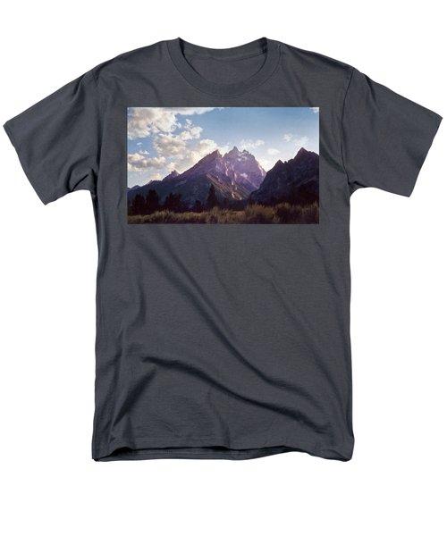 Grand Teton Men's T-Shirt  (Regular Fit) by Scott Norris